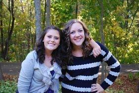 Sophia (left) and Hannah (right)