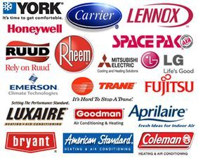 We Service All HVAC Makes and Models