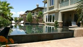 Residential swimming pool and spa builder in Henderson.
