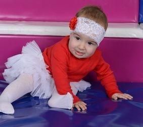 suknjica od tila za bebe