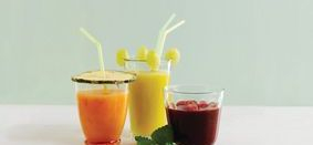 fresh organic juices