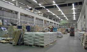 Full Warehouse wired by Riverview Electric Inc.