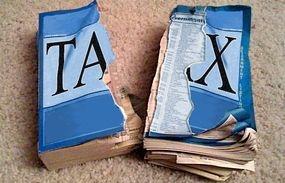 Torn Tax Codes Book