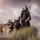 Dream and Elsa Northern Inuit dogs