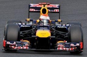Formula one Vettel on pole Europe