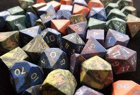 Mixed Dice Pile