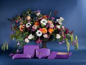 Maxwell bags event flowers