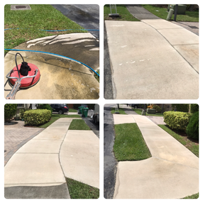 AR&D Inc. Sidewalk pressure cleaning