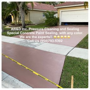 Concrete Paint Sealing