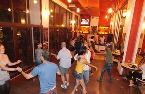 The exciteing new salsa basic class great way to meet new people.