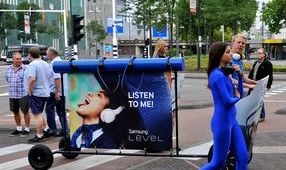 promotieteam reclamecampagne Latin promotie