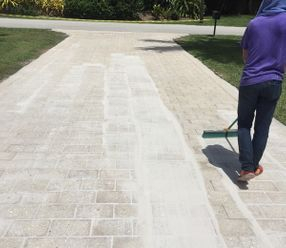 Paver Re-Sand Services