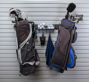 GOLF STORAGE SLATWALL