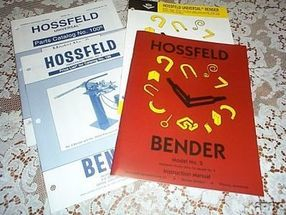 Hossfeld instruction Books