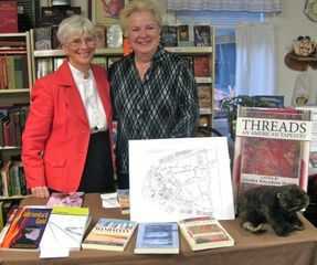 Lindsay Phote with Author Gloria Waldron Hukle