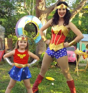 character company los angeles wonder woman birthday superhero