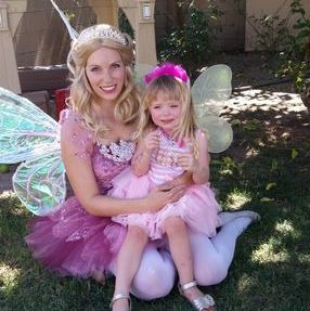 fairy princess original character company los angeles birthday party entertainment