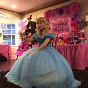 los angeles princess party character kids new cinderella movie