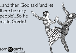 Do you think Greeks are sexy?