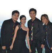 Sweet Blends Quartet at a Tagaytay wedding