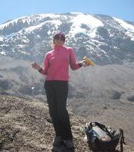 climbing kilimanajro