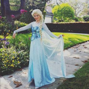 queen blue elsa party princess los angeles character entertainment company