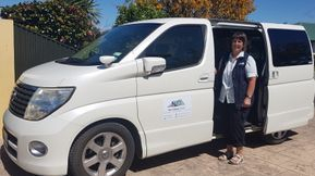 Vicki with New Zealand I Drive Private Tours