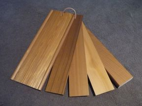 beautiful Cedar timber Venetians
