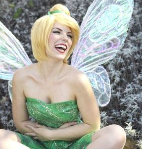 los angeles character party company tinkerbell fairy