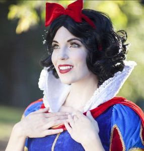 snow white party princess los angeles entertainment character