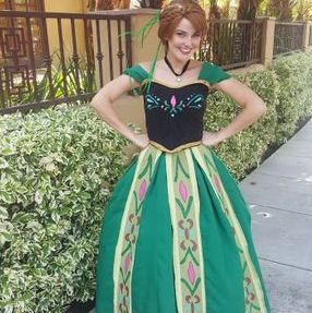 coronation dress snow princess anna frozen character los angeles best