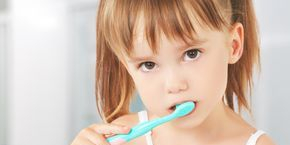 Kids Oral Hygiene Brushing Teeth