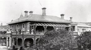 Struan House - Now part of the Supreme Court Complex
