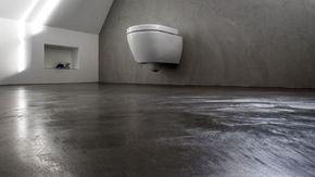 beton cire sol et mur