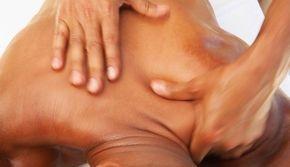 Rückenmassage, Entspannung