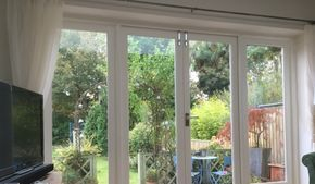 timber glazed french doors
