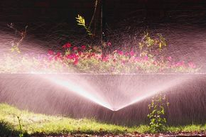 Midland Sprinklers And Maintenance, LLC  Watering Flower Beds