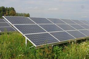 comercial solar farm