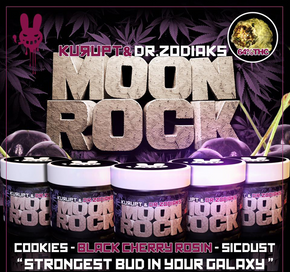 Find information about the Blue Moon Rocks cannabis strain including user reviews, its most common effects, where to find it, and more