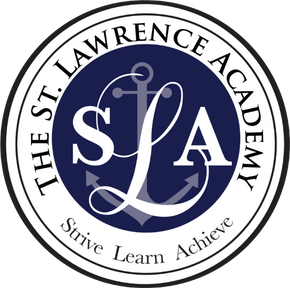 St Lawrence Academy logo - academic excellence