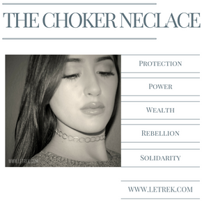 The Choker - History and Shop Chokers