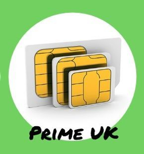 PRIME UK PROFILE SIM 5 Networks