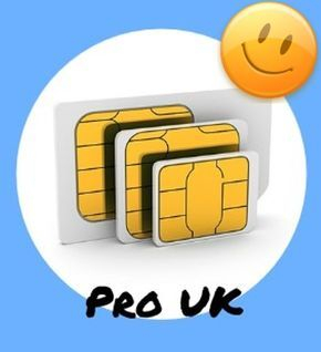 PRO UK Profile SIM card