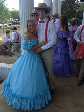 A Belle with her Gent