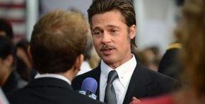 Brad Pitt at a film premier