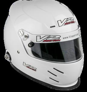 Vulcan Racing V2Sport Vent fia/sa2015 motorsport helmet white hans posts best value