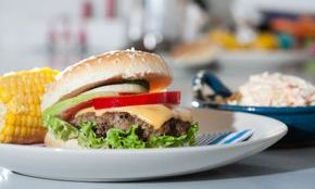 specialty burgers to steaks & seafood
