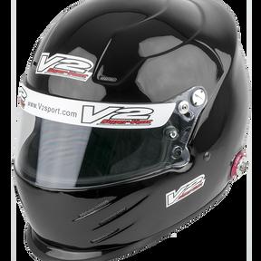 Vulcan Racing V2Sport Vent FIA/SA2015 Motorsport helmet black hans posts best value