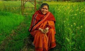 vandana shiva, non-gmo, organic cotton, organic India, India agriculture, permaculture