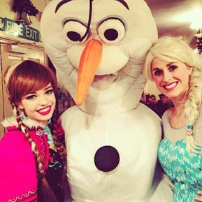 Olaf Elsa and Anna Kids Entertainer